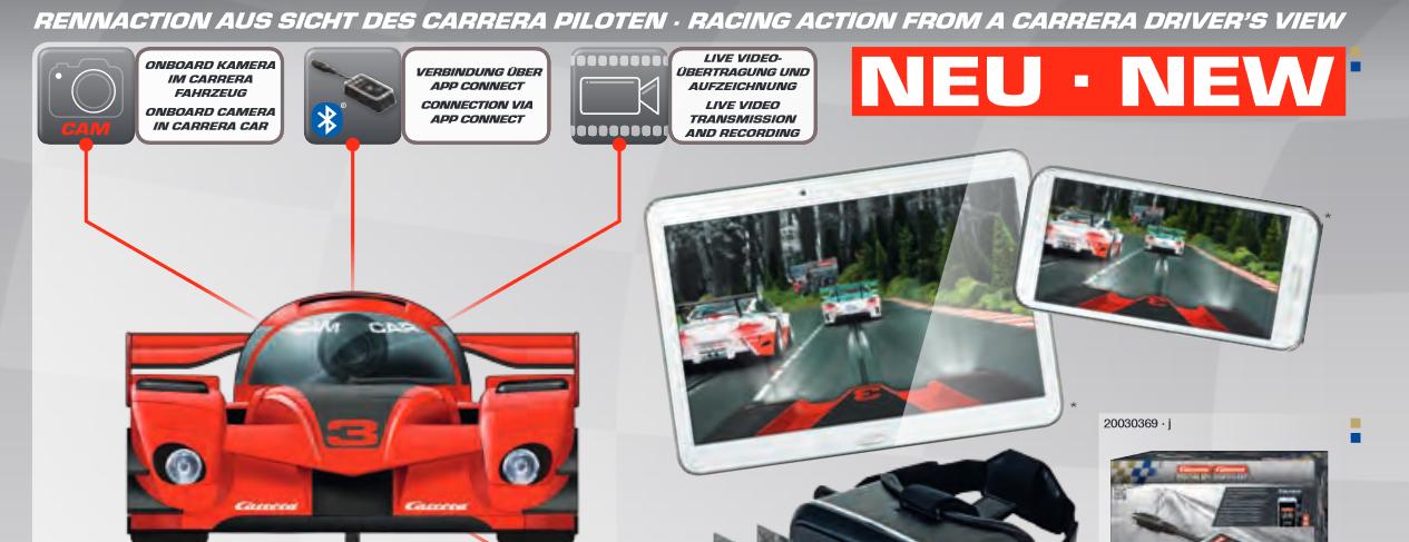 Carrera Kamera Auto