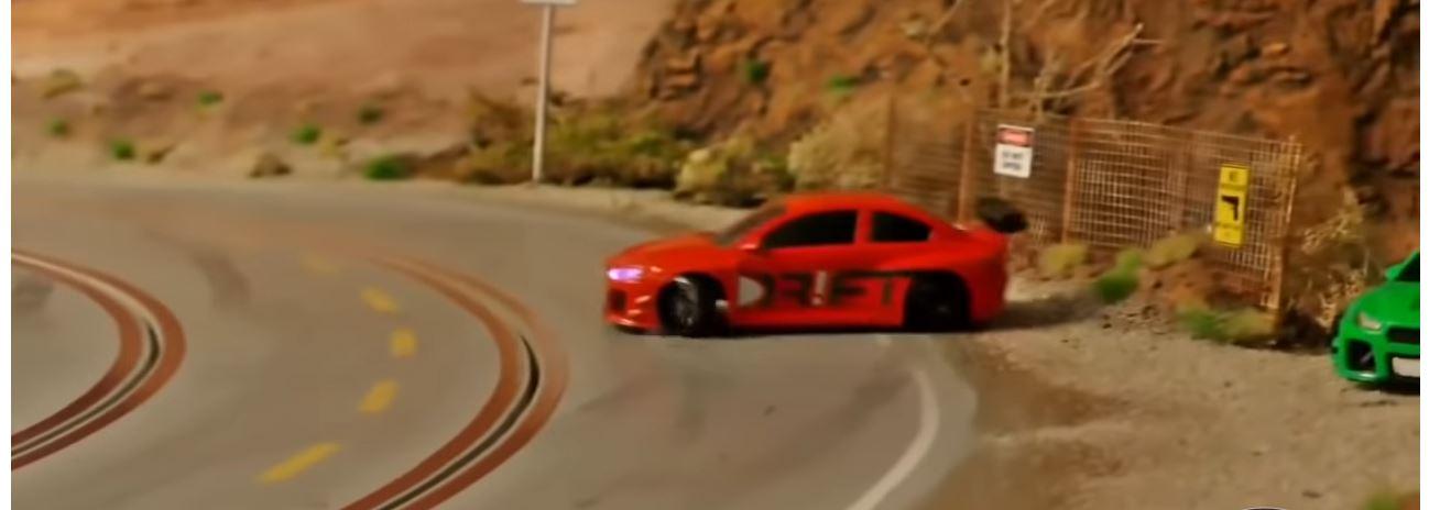 Drift Racer auf Carrera Bahn